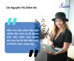 Chị Nguyễn Thị Diễm Hà