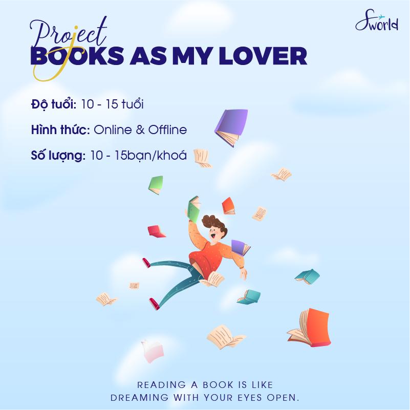 KHÓA BOOKS AS MY LOVER